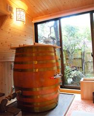 樽の蒸し風呂